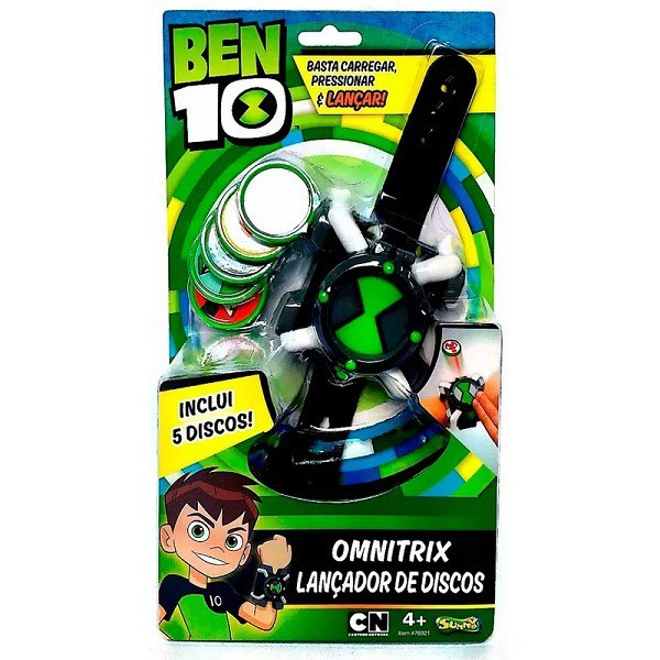 Lançador de Discos BEN 10 Omnitrix SUNNY 1759
