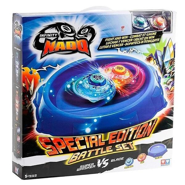 Lançador Nado Battle SET Super Whisker VS Blade Candide 3905