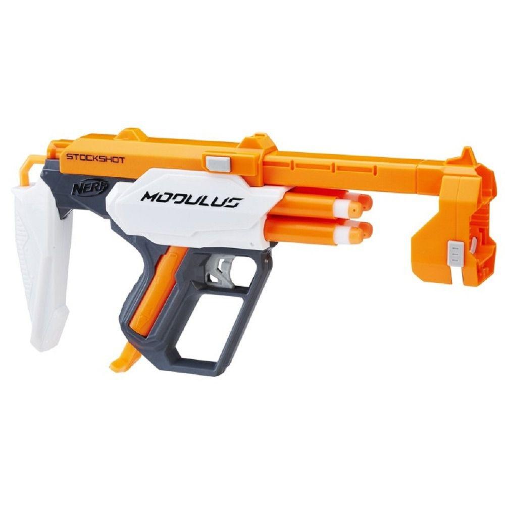 Lançador NERF Acessorio Modulus Blaster Stockshot Hasbro C0614 12296