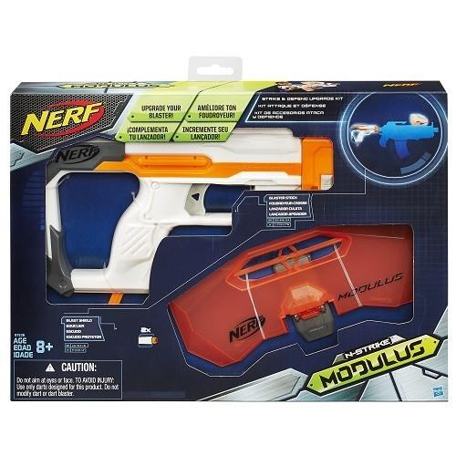 Lançador NERF Acessorio Modulus Defend UPG Hasbro B1536 11907