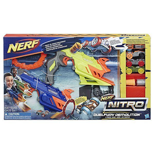 Lancador NERF Nitro Duelfury Hasbro C0817 12494