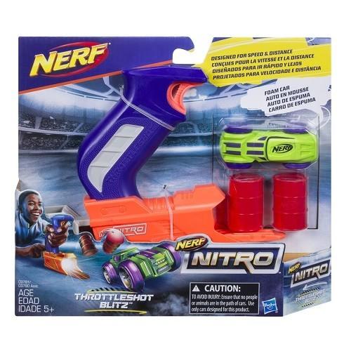 Lançador NERF Nitro Throttleshot Hasbro C0780/C0781 12492
