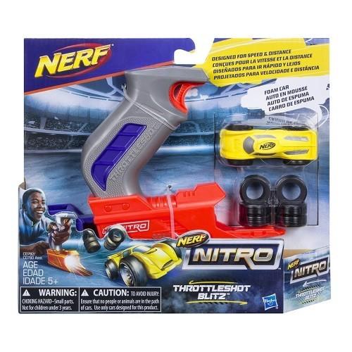 Lançador NERF Nitro Throttleshot Hasbro C0780/C0782 12492