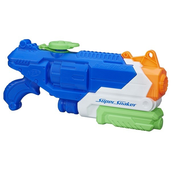 Lançador NERF Super Soaker Breach BLAST Hasbro B4438 11732