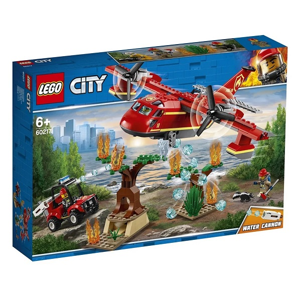Lego CITY Aviao de Combate AO Fogo 60217