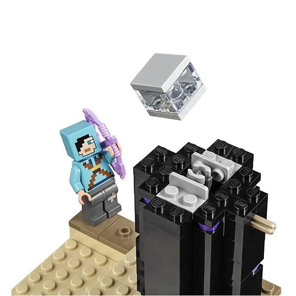 Lego Minecraft a Batalha Final 21151