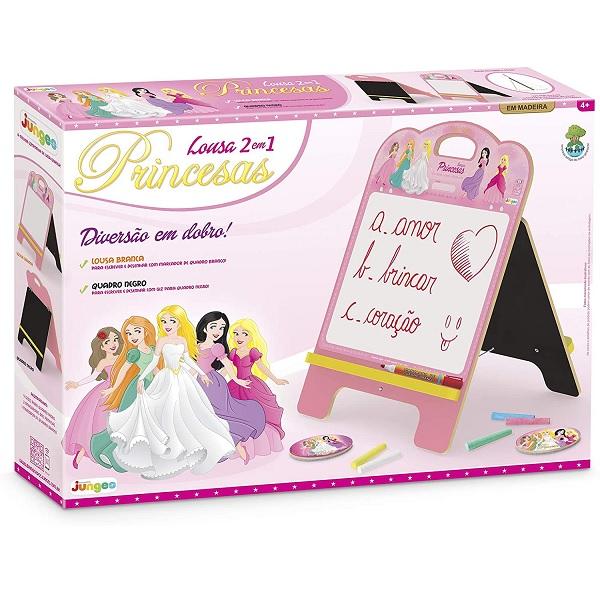 Lousa 2 em 1 Princesas Junges 348