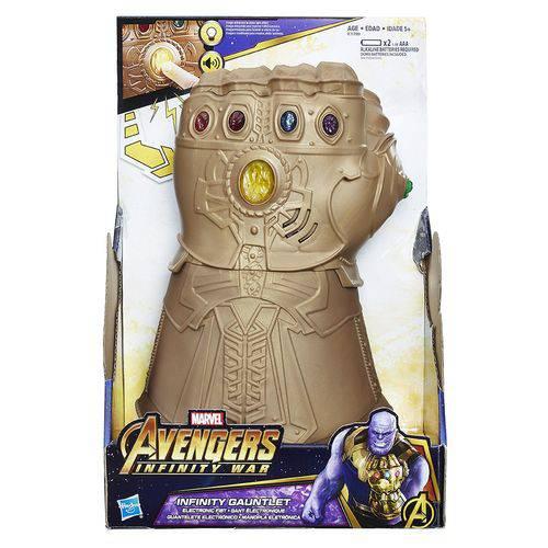 Luva Eletronica Avengers Manopla do Infinito Hasbro E1799 12987