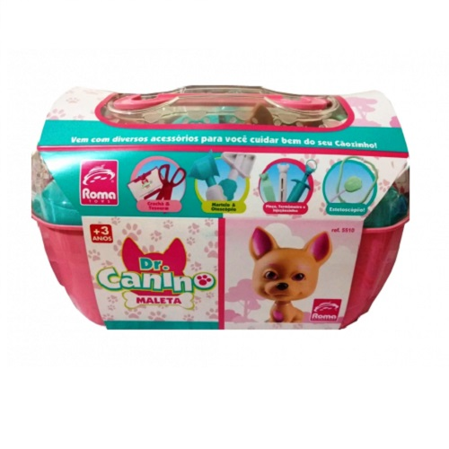 Maleta DR Canino Rosa Roma 5510