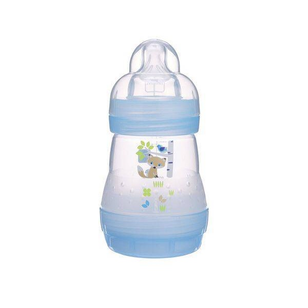 Mamadeira FIRST Bottle 160ML BOYS AZUL (0M+) 4661- MAM