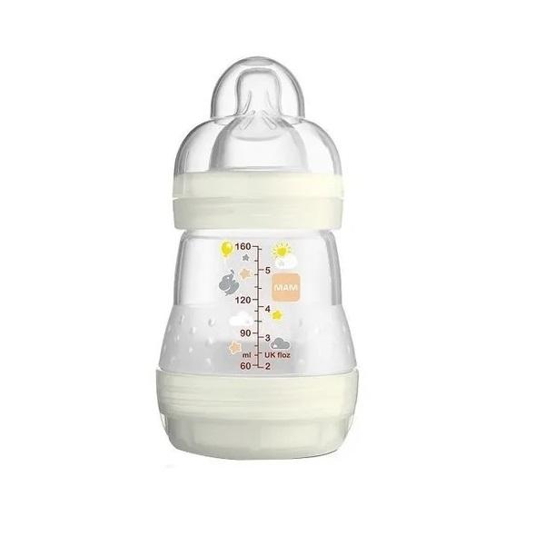 Mamadeira FIRST Bottle 160ML Neutral (0M+) MAM 4652