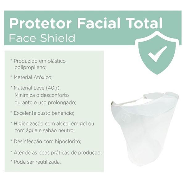 Mascara de Protecao Facial Dello