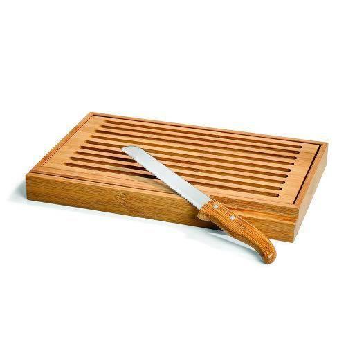 Migalheira em Bambu com Faca WELF PD-00743