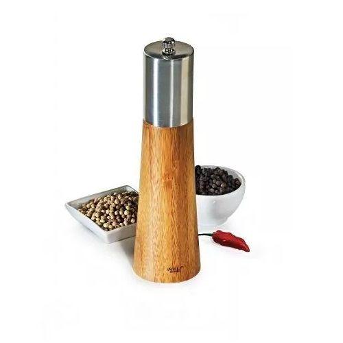 Moedor de SAL Grosso e Pimenta em Bambu Salzburgo TE-00833 WELF