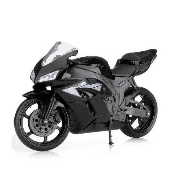 Moto Racing Motorcycle Preto Roma 0900