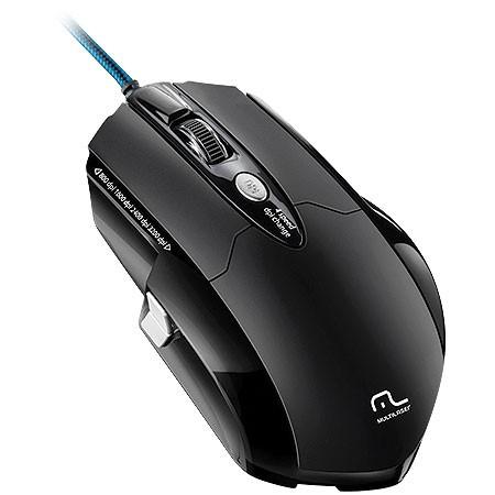 Mouse Usb Laser 3200 Dpis Warrior Gamer Pro Mo191 Multilaser