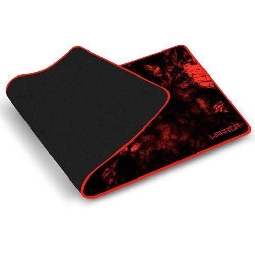 Mouse PAD Multilaser Warrior para Teclado e Mouse Vermelho AC301