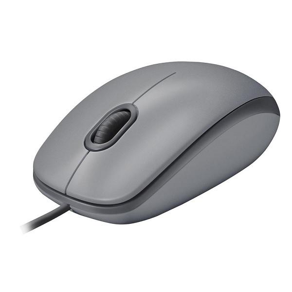 Mouse USB M110 Silent Cinza Logitech 1000DPI