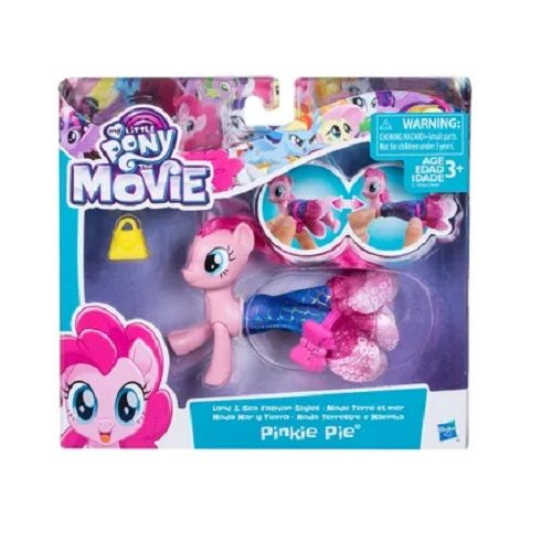 MY Little PONY Movie 15 CM Moda Terrestre e Marinha Pinkie Pie Hasbro C0681