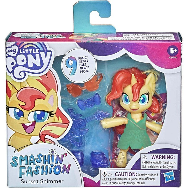 MY Little PONY Smashin Fashion Sunset Shimmer Hasbro F1277 15684