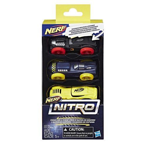 Nerf Refil Carros Nitro C3 Hasbro C0774/C0778 12491