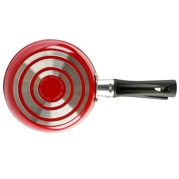 Omeleteira 14CM Antiaderente Garlic Vermelho Brinox 7001/370