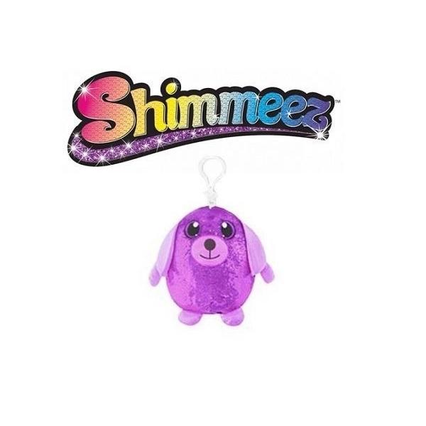 Pelucia Shimmeez Pequeno Cachorrinho Roxo TOYNG 37454