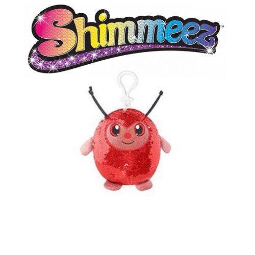 Pelucia Shimmeez Pequeno Joaninha Vermelha TOYNG 37454