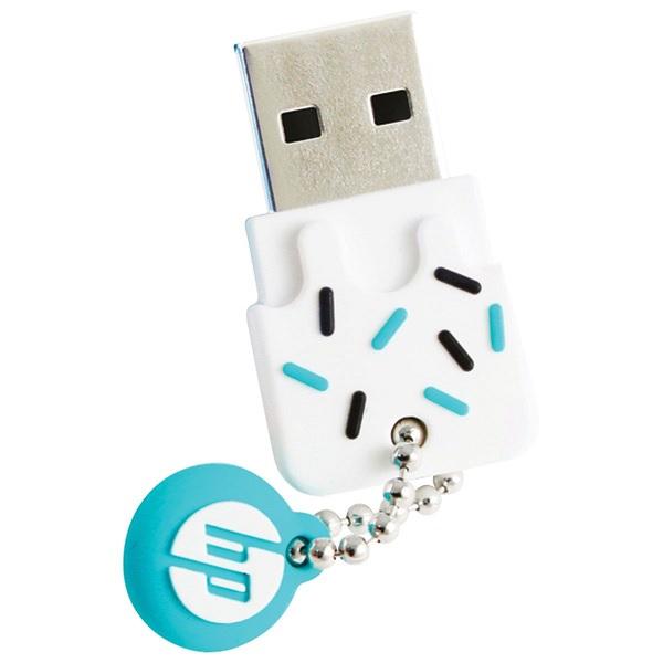 Pen Drive 16GB USB2.0 Mini V178B Blue HP