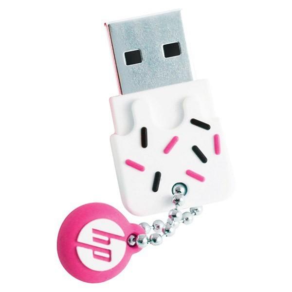 Pen Drive 16GB USB2.0 Mini V178P PINK HP
