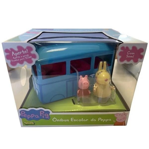 Peppa PIG Onibus Escolar da Peppa com Som SUNNY 2305