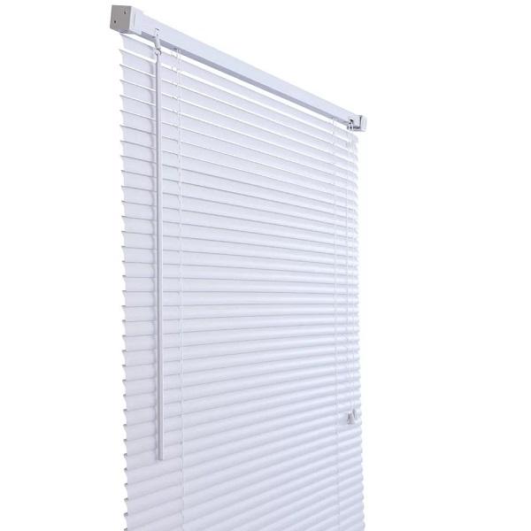 Persiana Horizontal em PVC 25MM Branca 140X160CM Primafer PR2915-2