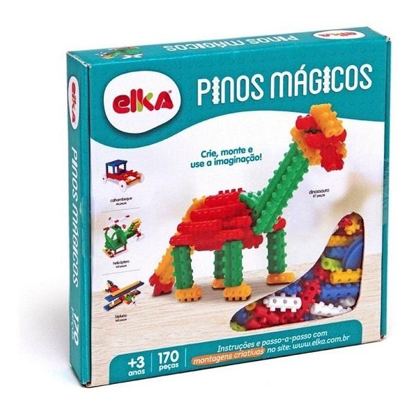 Pinos Magicos 170 Peças ELKA 90