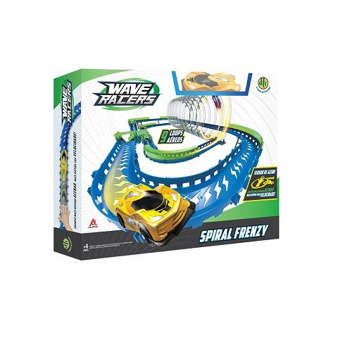Pista e Veiculo Spiral FRENZY Wave Racer DTC 4712