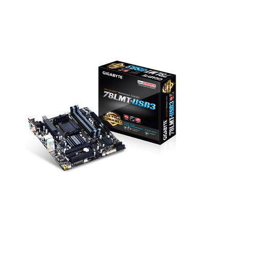 Placa Mae AMD Gigabyte GA-78LMT-USB3 MATX AM3 AM3+ DDR3 1066MHZ VGA DVI-D HDMI