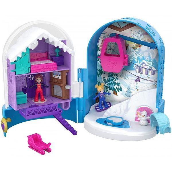 Polly Pocket Mini Mundo de Aventura Mattel FRY35/FRY37