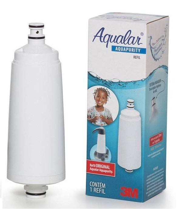 Refil 3M para Filtro de Agua Aqualar Aquapurity