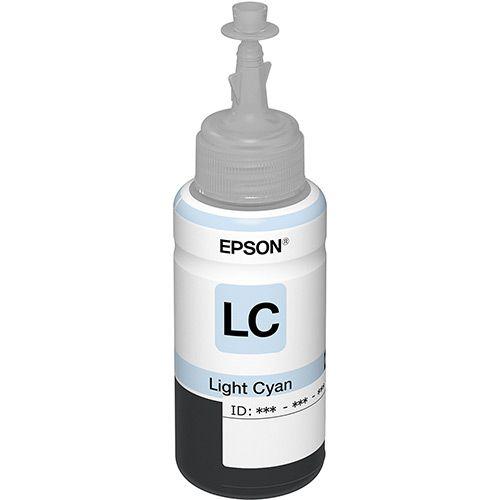 Refil de Tinta EPSON Ciano Claro para Impressora L800 - T673520-AL