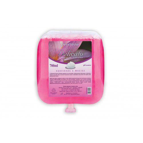 Refil Sabonete Espuma Delicato 700ML Premisse C10214