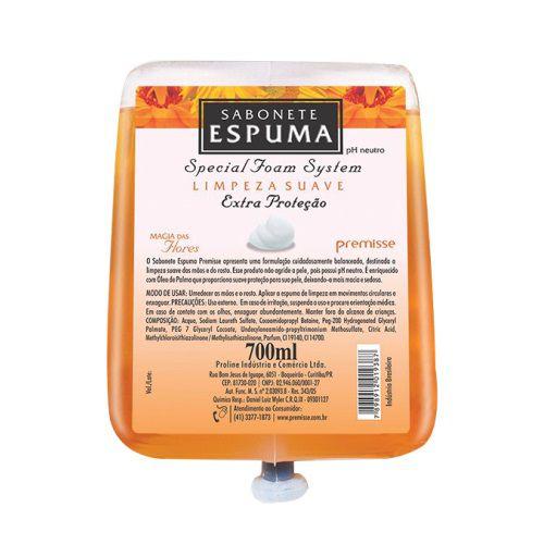 Refil Sabonete Espuma Magia das Flores 700ML Premisse C10201