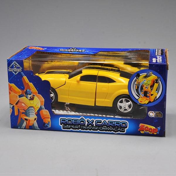 Robot Warriors Robo X Carro Amarelo Zoop TOYS ZP00674