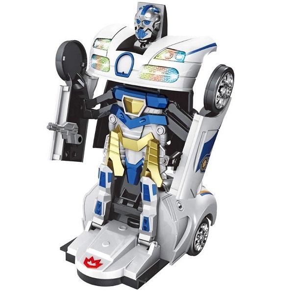 Robot Warriors Robo X Carro Policia Zoop TOYS ZP00676