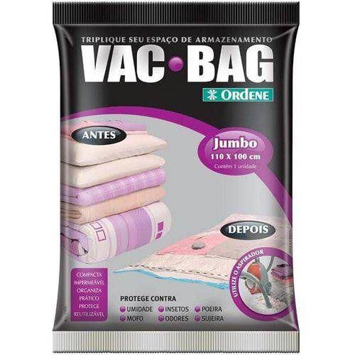 Saco para Armazenagem a Vacuo 110 X 100 VAC BAG Jumbo Ordene 55800