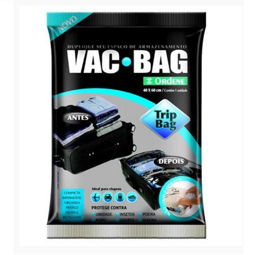 Saco para Armazenagem a Vacuo 60 X 40 VAC BAG TRIP BAG Ordene 55000