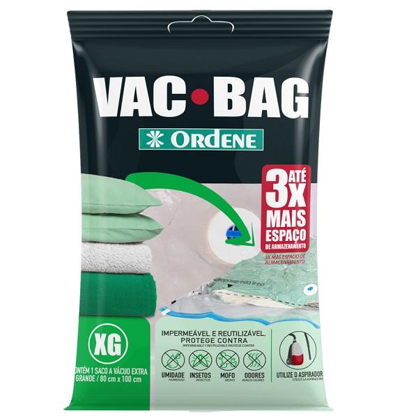 Saco para Armazenagem a Vacuo VAC BAG EXTRA Grande Ordene 55600