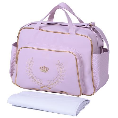 Sacola Maternidade Royal Rosa com Trocador Fofokits SCR