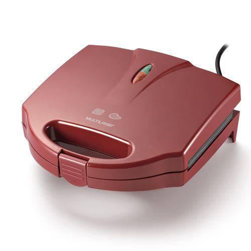 Sanduicheira e GRILL 750W Vermelha 127V Multilaser CE039