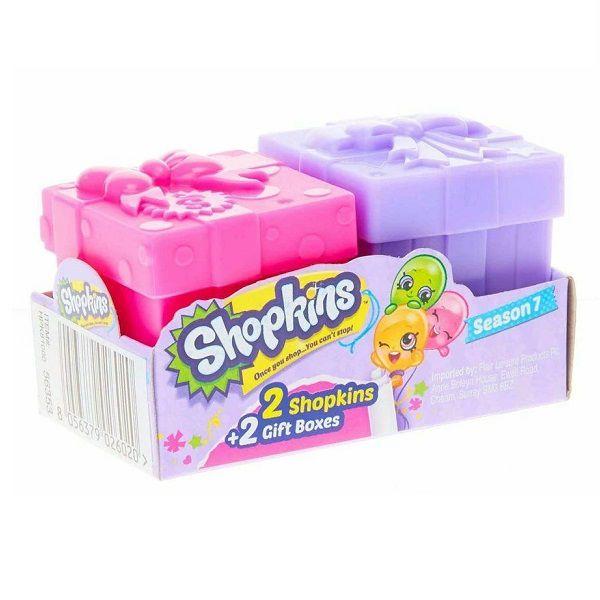 Shopkins Serie 7 Caixinhas com 2 Shopkins Sortidos DTC 3580