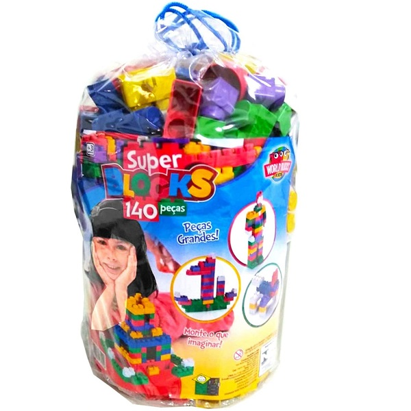 Super BLOCKS 140 Peças Riber BRINK 2400