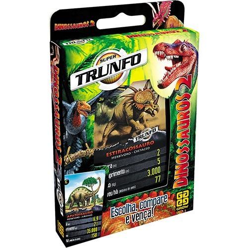 Jogo Super Trunfo Dinossauros 2 GROW 03113-